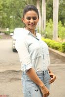 Rakul Preet Singh in Jeans and White Shirt At Jaya Janaki Nayaka le Logo Launch ~  Exclusive 067.JPG