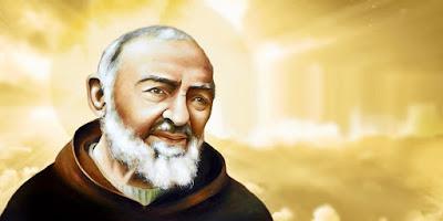 imagem de São Pio de Pietrelcina
