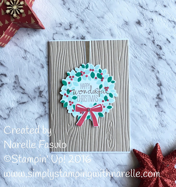 Wonderous Wreath - Simply Stamping with Narelle - available here - http://www3.stampinup.com/ECWeb/ProductDetails.aspx?productID=135047&dbwsdemoid=4008228