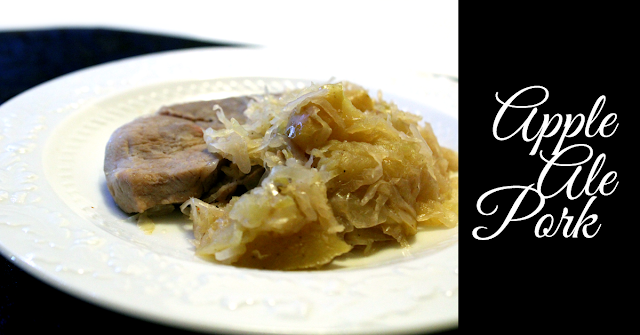 Apple Ale Pork | Dinner Recipes | Pork Chops | Crock Pot | Easy