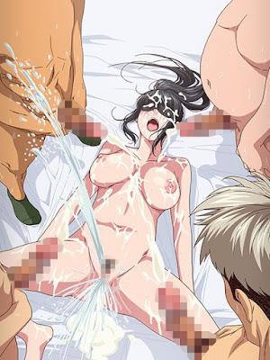 Bukkake en el hentai Tooi Kimi ni Boku wa Todokanai
