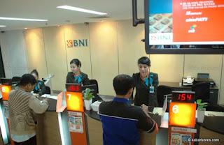 Lowongan Kerja Op Back Office Bank BNI Tingkat SMA - S1
