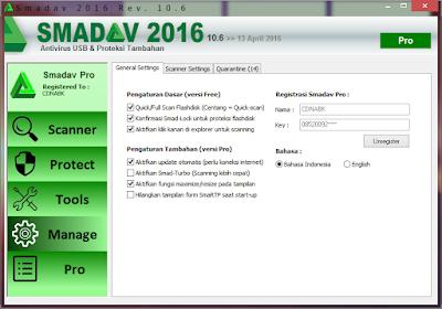 Smadav Pro Rev 10.6 Terbaru 2016 Full Versi