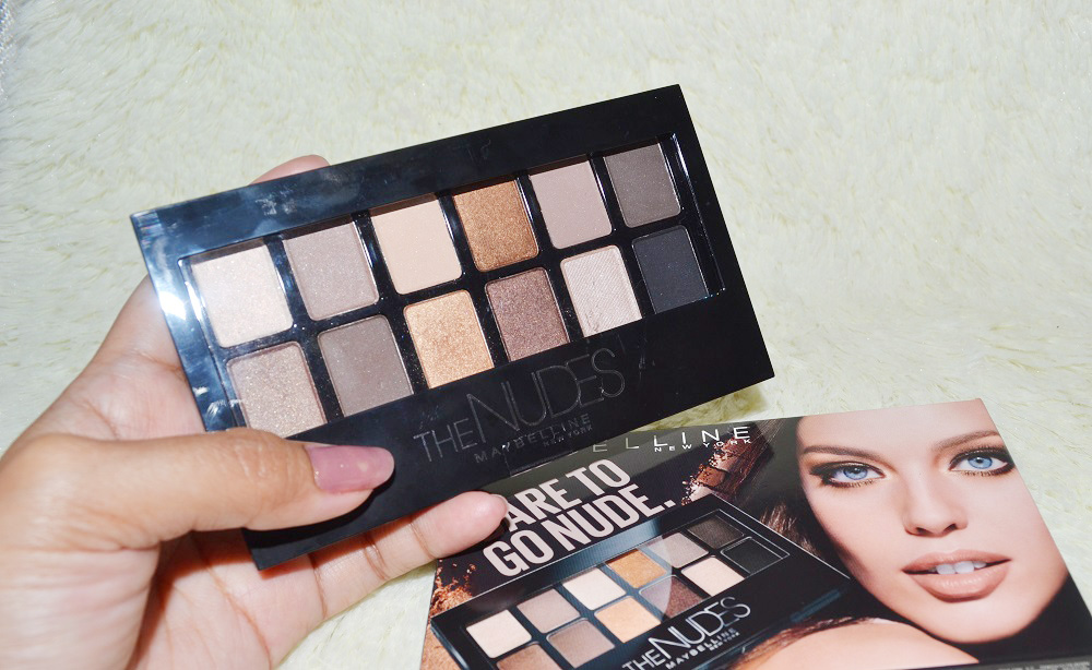 Maybelline The Nude Palette Review, Maybelline Philippines