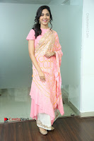 Actress Ritu Varma Pos in Beautiful Pink Anarkali Dress at at Keshava Movie Interview .COM 0183.JPG