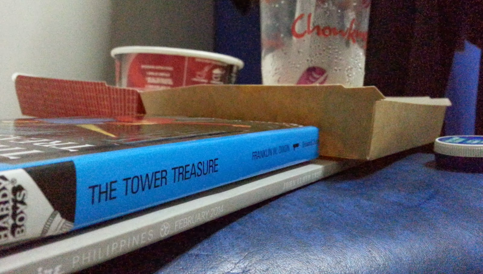 Hardy Boys, Esquire, Chowking delivery and Vicks VapoRub