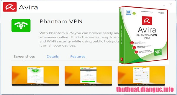 Download Avira Phantom VPN Pro 2.24.1.25128 Full Key