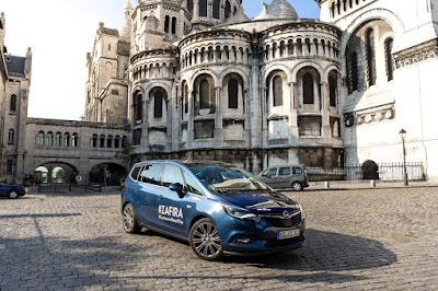 Roadtrip με το νέο Opel Zafira