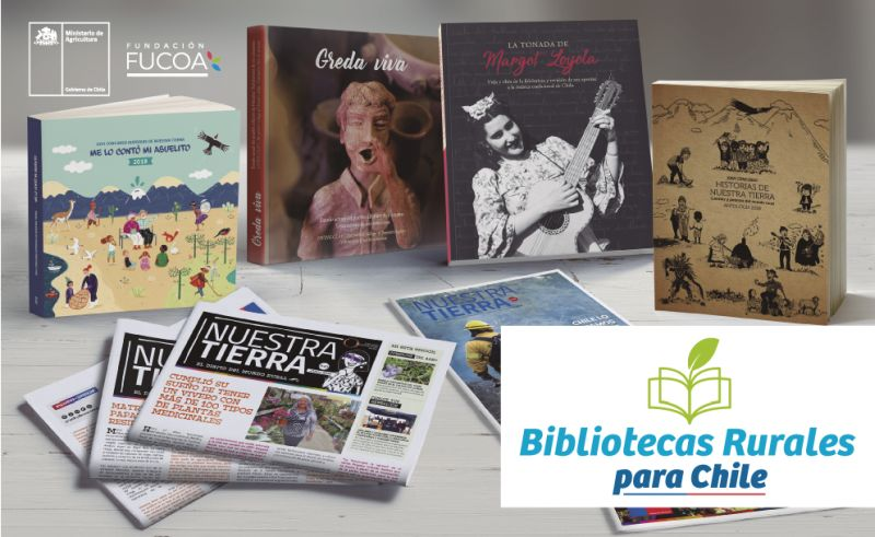 """Bibliotecas Rurales para Chile"""