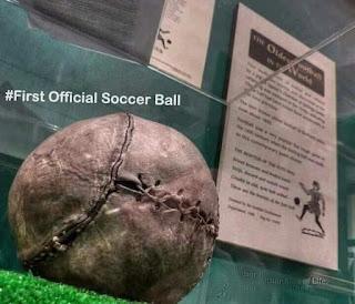 First Official Soccer Ball