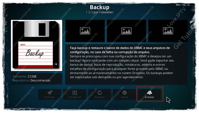 Como Fazer o Backup do Kodi - Mantenha Seguro sua Configuração