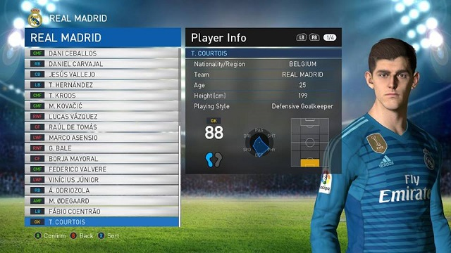 Option File PES 2017 untuk PES Professionals update 11/8/2018