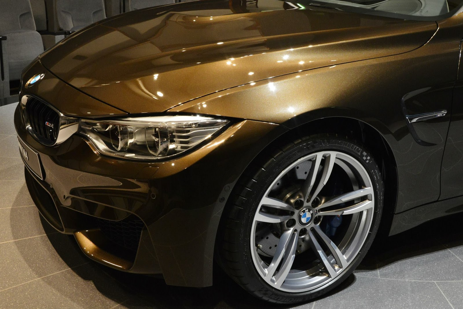 Pikes Peak Coffee >> BMW M4 Individual In Pyrite Brown: Sweet As Chocolate Or ...