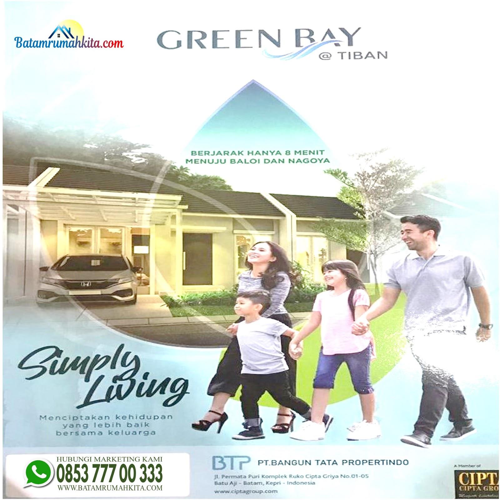 perumahan green bay tiban batam