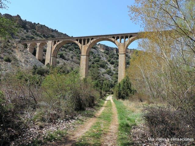 Senda del río. Hoces del río Riaza, Segovia
