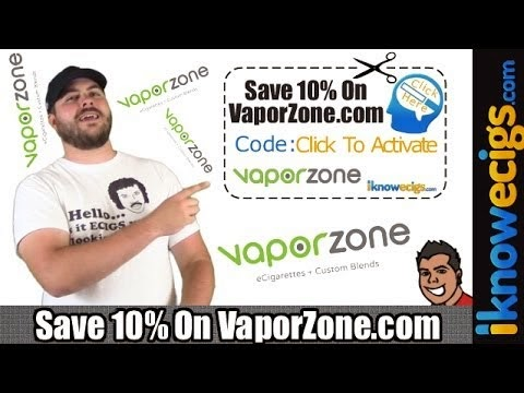 VaporZone E-Cigarette Coupon Code