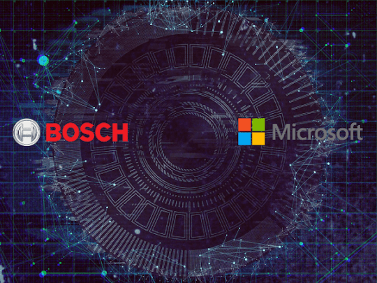 Bosch ve Microsoft'dan Otomobil Ortaklığı!