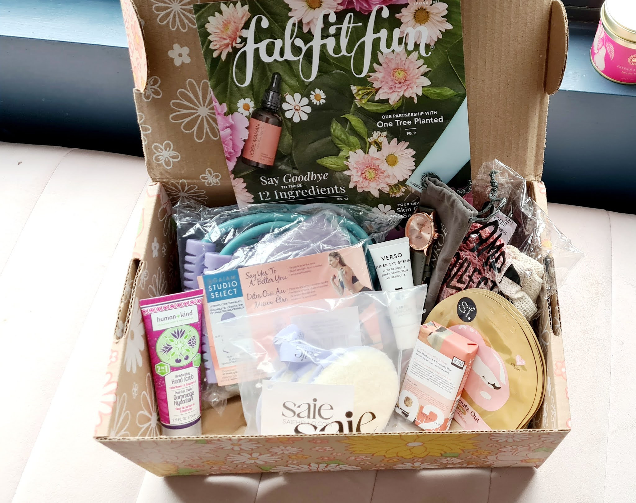 FabFitFun box Spring 2021 review UK