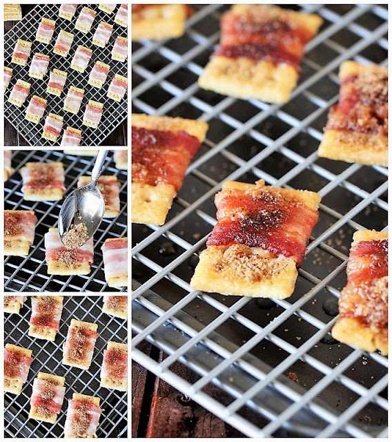 How to Make Sweet-&-Spicy Bacon Crackers image