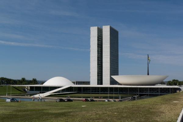 palazzo dei congressi-Brasilia-città-Oscar Niemayer