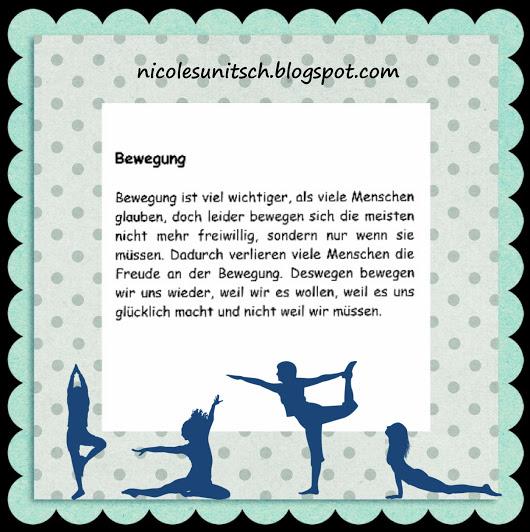 sprüche bewegung Gedichte von Nicole Sunitsch   Autorin : Register Sprüche  sprüche bewegung
