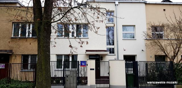 Warszawa Warsaw Żoliborz ulice Żoliborza willa architektura