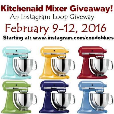 Kitchenaid stand mixer instagram giveaway