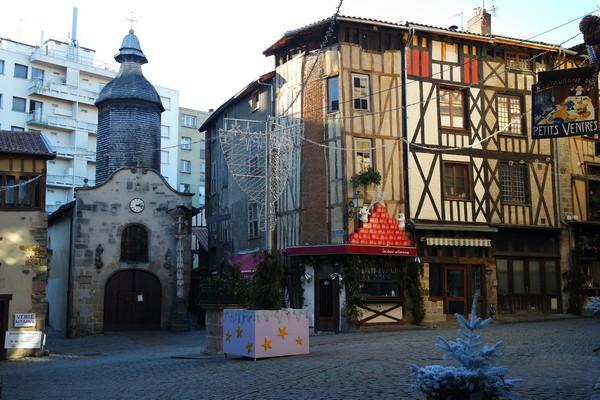 limoges quartier boucherie colombages chapelle saint-aurélien