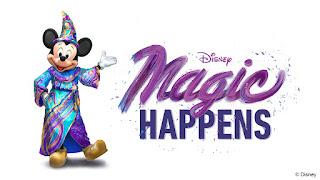 Disneyland Parade Magic Happens Logo