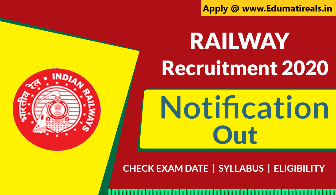 Indian Railway Trainee Recruitment 2020