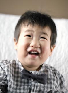 little boy's bowtie