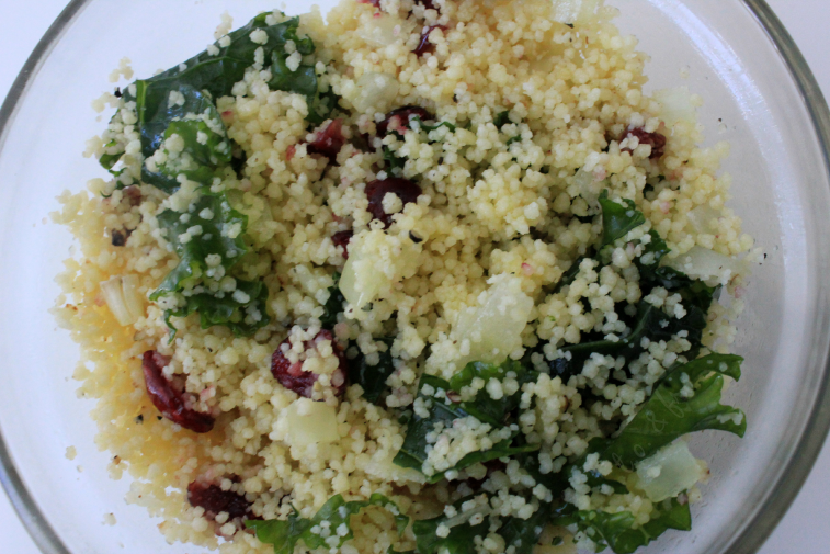 kale and couscous salad recipe
