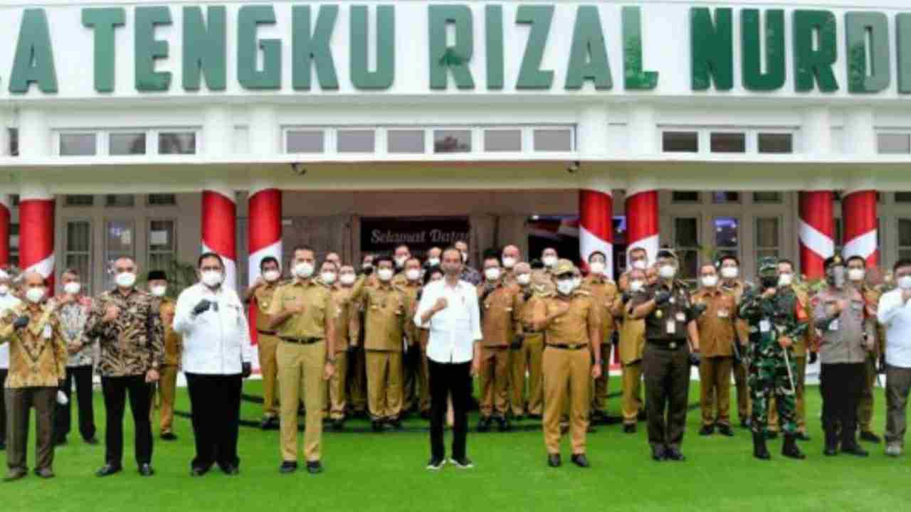 Presiden Jokowi Harap Vaksinasi di Sumut Bisa Lebih Merata, Percepat Terbentuknya Herd Imunnity