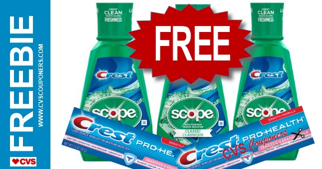 FREE Crest Products CVS Deal - 7/14-7/20