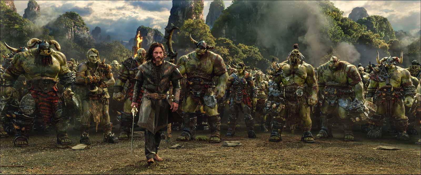 """Los orcos de """"Warcraft: El Origen"""""""