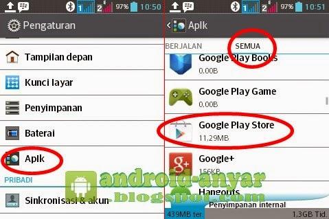 Cara aman dan ampuh atasi Play Store Android Macet tidak bisa download game