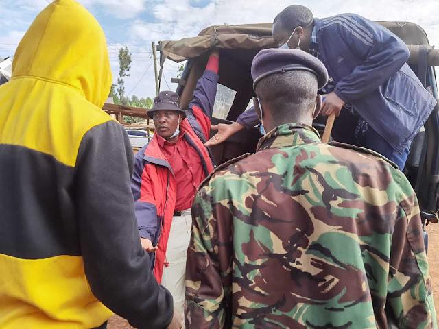 Police arrest UDA candidate Moses Nyandusi Nyakeremba photo