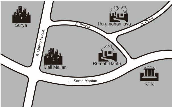 Cara Membuat/Mendesain Peta lokasi Seperti dalam Undangan Pernikahan