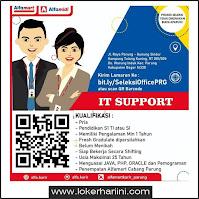 Lowongan Kerja IT Support Alfamart Bogor Terbaru 2021