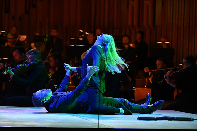Janacek: Cunning Little Vixen - Gerald Finley, Lucy Crowe with LSO in 2019 - (Photo Mark Allan / LSO / Barbican)