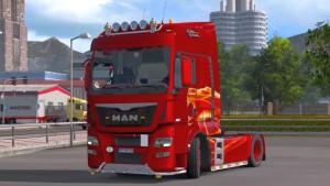MAN TGX Euro 6 v1.9 truck mod