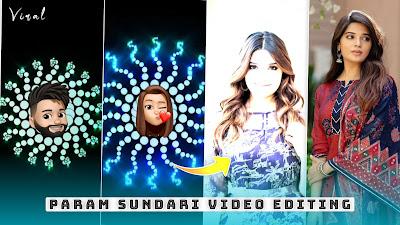 Param Sundari Song Status Kaise Banaye   Alight Motion Memoji Beat Sync Editing Instagram Reels 4K