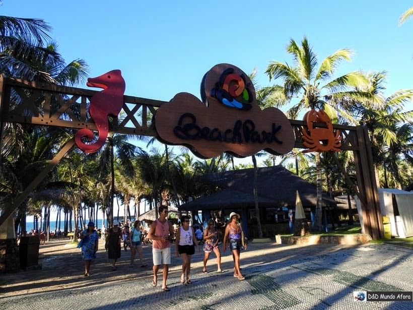 Um dia no Beach Park - parque aquático do Ceará