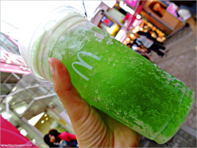 Melon Soda Float del McDonald's en Tokio