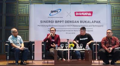 kolaborasi BPPT Bukalapak