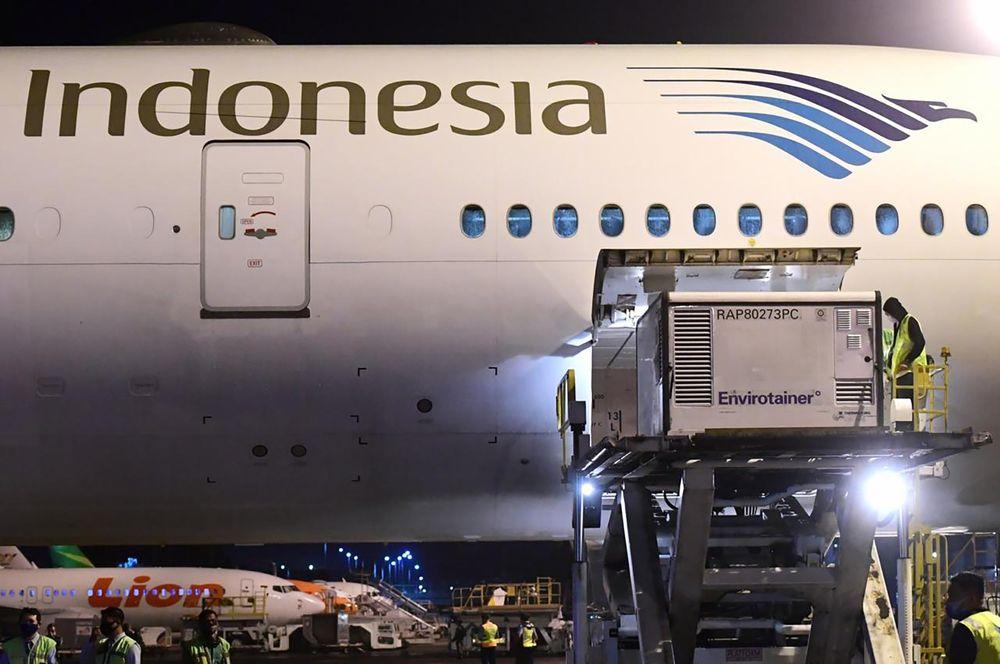 Vaksin Sinovac Covid-19 dosis 1,2 juta tiba di Jakarta pada 6 Desember 2020