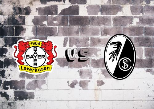 Bayer Leverkusen vs Freiburg  Resumen