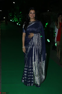 Dia Mirza in Sizzling Designer Saree at THE OLIVE CROWN AWARDS 2017 19.jpg