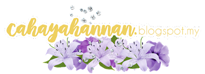 Done Blog Editing Cahaya Hannan dan Kim Chaa