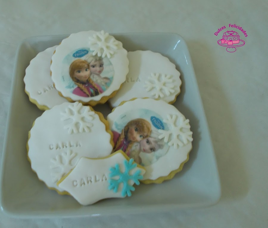 Galletas Frozen fondant